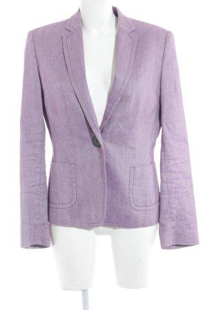 René Lezard Smoking-Blazer weiß-violett