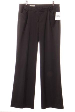 René Lezard Pantalone jersey nero stile professionale