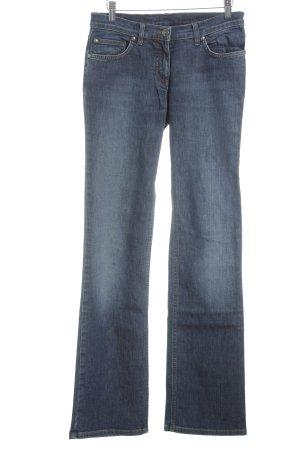 René Lezard Straight-Leg Jeans blau Casual-Look