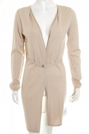 René Lezard Strickjacke hellbeige Casual-Look