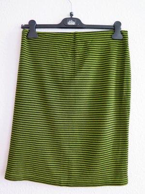 René Lezard Strickrock, schwarz-grün