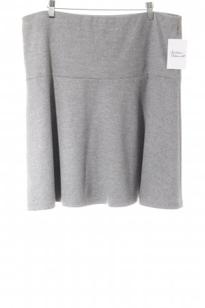René Lezard Circle Skirt light grey casual look