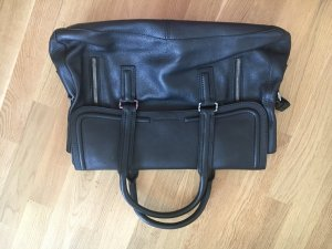 René Lezard Tote black leather