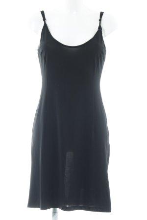 René Lezard Trägerkleid schwarz minimalistischer Stil