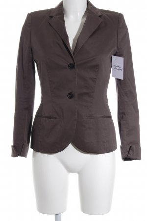 René Lezard Unisex-Blazer graubraun Business-Look