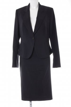 René Lezard Woven Twin Set dark blue business style