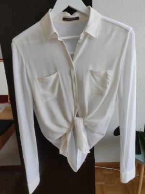 RENÉ LEZARD weiße Seidenbluse Silk