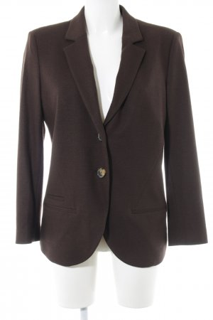 René Lezard Wool Blazer brown business style