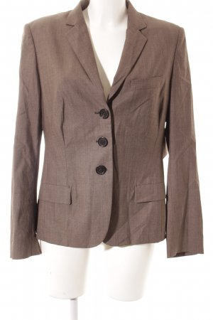 René Lezard Wool Blazer grey brown flecked business style