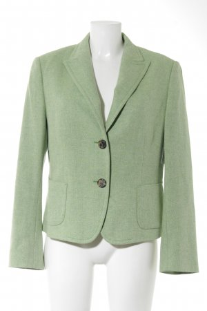 René Lezard Wool Blazer lime-green business style