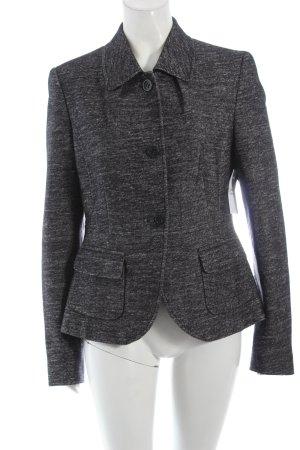 René Lezard Woll-Blazer schwarz-weiß Eleganz-Look