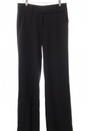 René Lezard Woolen Trousers anthracite business style