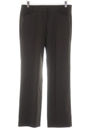 René Lezard Wollen broek donkerbruin zakelijke stijl