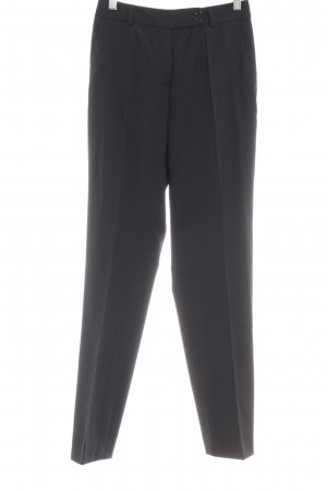 René Lezard Woolen Trousers black business style