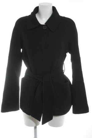 René Lezard Giacca di lana nero stile classico