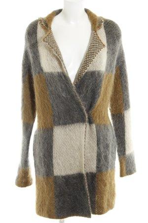 René Lezard Cappotto in lana multicolore stile stravagante