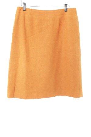 René Lezard Wollrock orange meliert extravaganter Stil
