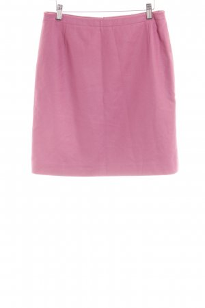René Lezard Wool Skirt pink business style