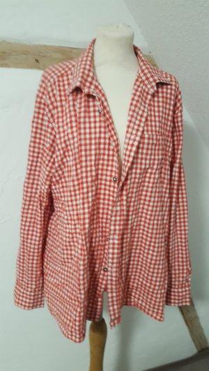 Chemise de bûcheron rouge-blanc