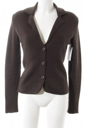 Repeat Cardigan dunkelbraun Casual-Look