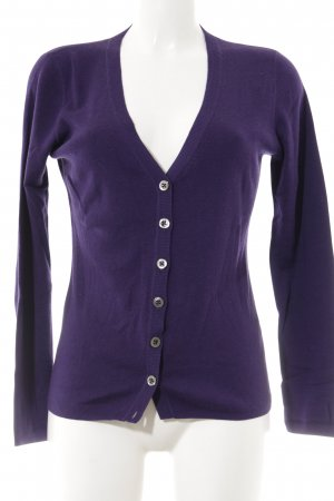 Repeat Cardigan lila Kuschel-Optik