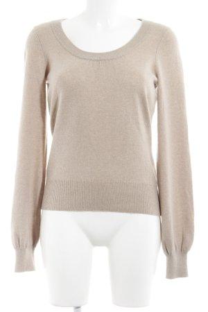 Repeat Cashmere Cashmerepullover beige Casual-Look