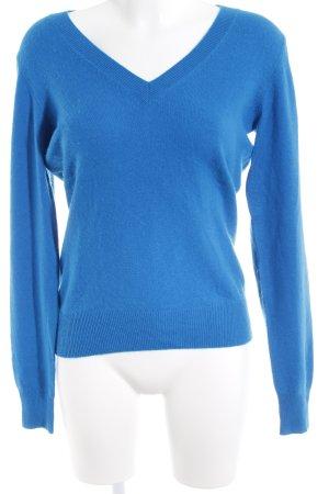 Repeat Cashmere Cashmerepullover blau Casual-Look