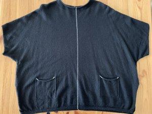 Repeat Cashmere Cashmere Jumper black-white
