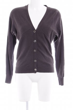 Repeat Cashmere Strickjacke graulila Kuschel-Optik