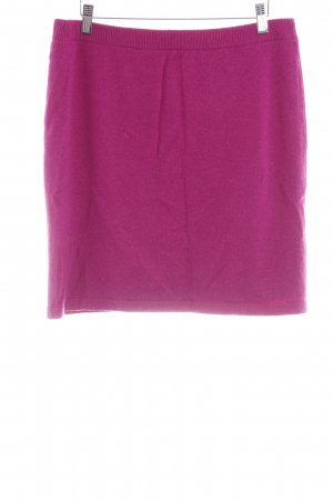 Repeat Cashmere Wollrock violett Casual-Look