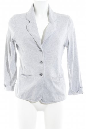 Repeat Jersey Blazer gris estilo «business»