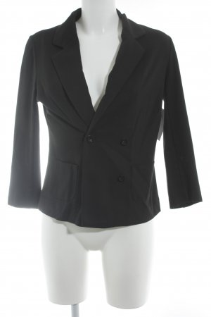 Repeat Jerseyblazer schwarz Casual-Look