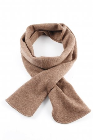 Repeat Cashmere Scarf light brown casual look
