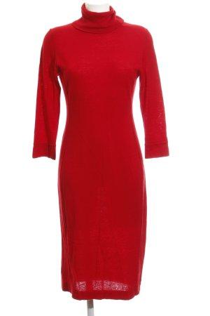 Repeat Jersey largo rojo look casual