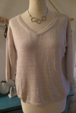 Repeat Pullover Silber Größe L
