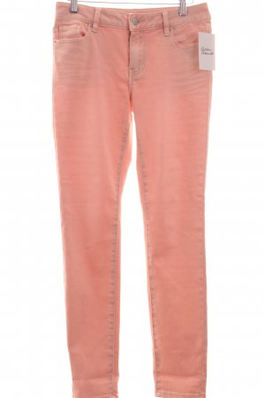 Repeat Röhrenhose rosé Casual-Look