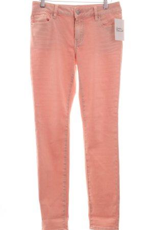 Repeat Röhrenhose rosé Casual-Look