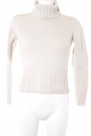 Repeat Rollkragenpullover creme Casual-Look