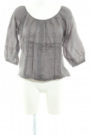 Repeat Schlupf-Bluse dunkelgrau Casual-Look