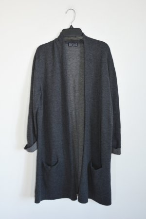 Repeat Knitted Coat grey-dark grey cashmere
