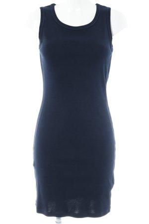 Repeat Robe stretch bleu foncé style décontracté