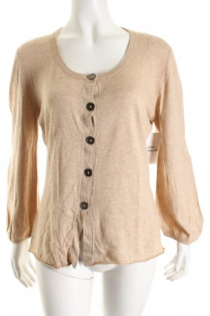 Repeat Strick Cardigan beige Casual-Look