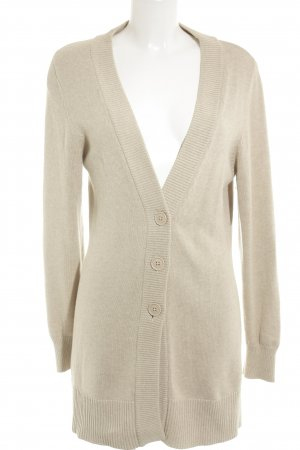 Repeat Strick Cardigan beige Kuschel-Optik