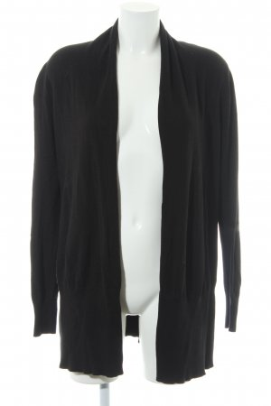 Repeat Knitted Cardigan black