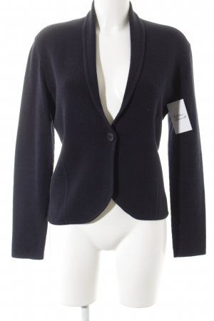 Repeat Strickblazer dunkelblau Casual-Look