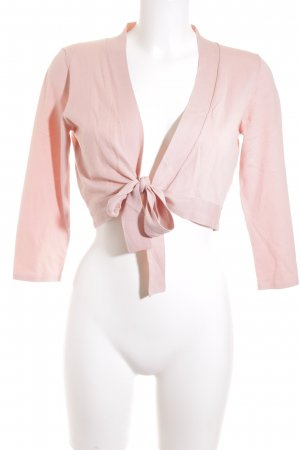 Repeat Strickbolero rosa Casual-Look