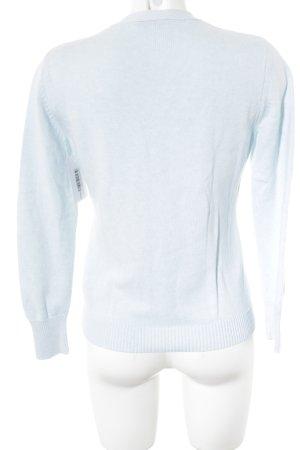 Repeat Strickjacke babyblau-wollweiß Farbverlauf Casual-Look
