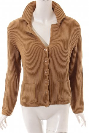 Repeat Strickjacke camel Kuschel-Optik