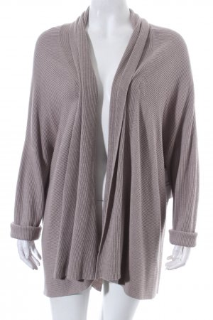Repeat Strickjacke grau Kuschel-Optik