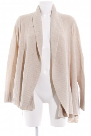 Repeat Strickjacke hellbeige Casual-Look